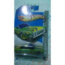 Hot Wheels Treasure Hunt 2013 Lincoln Continental 64 Convert