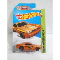 Hot Wheels Dodge Challenger Concept Naranja 234/250 2015