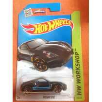 Hot Wheels Nissan 370z (negro)