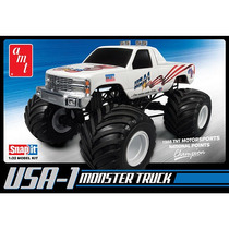 Ronda 2 Ee.uu.-1 A Escala 1:32 Monster Truck 4x4 Kit Snap