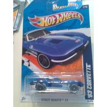 Hot Wheels De Coleccion 2012 63 Corvette Bvf
