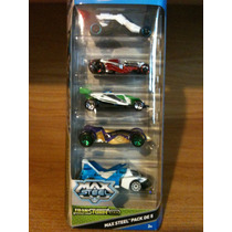 Max Steel Transform Tek Pack De 5