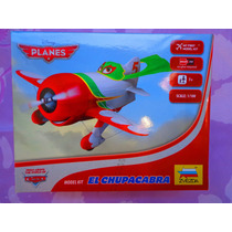 Disney Aeroplanos Avion El Chupacabra Armable Escala 1/100