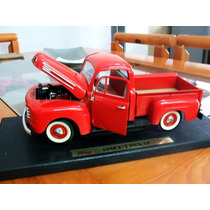 1948 Ford F100red Pick Up 1/18