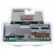 Greenlight Donas Krispy Kream 68 Chevrolet C-10 Hitch & Tow
