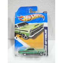 Hot Wheels 66 Ford 427 Fairlane Verde 112/247 2012