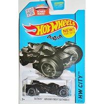 Hot Wheels 2015 Hw City Batman Arkham Knight Batmobile # 61/