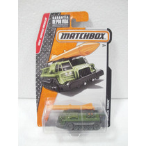 Matchbox Camion Militar Attack Track Verde/naranja 72/125