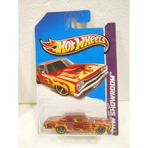 Hot Wheels 69 Dodge Coronet Superbee Rojo 212/250 2013