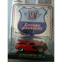 Auto De Coleccion M2 Ground Pounders Playmouth Hemi Cuda1971