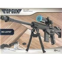 Replica Paraarmar Rifle Sniper M107 Compatible Lego 527 Pzas