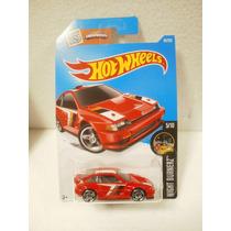 Hot Wheels 1985 Honda Cr-x Rojo 85/250 2016