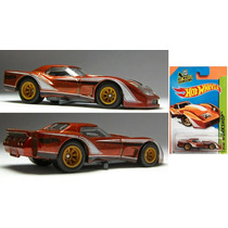 Hot Wheels Treasure Hunt 79 Greenwood Corvette Llantas Goma