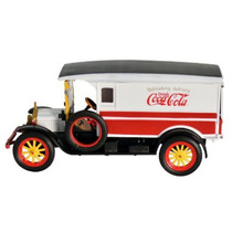 441761 Camioneta Coca Cola 1920 White Van Esc 1/32 Motorcity
