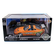 Jada Supra Vs Charger Rapido Y Furioso 1 Fast & Furious 1/24