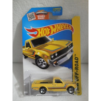 Hot Wheels Camioneta Datsun 620 Amarillo 125/250 2015