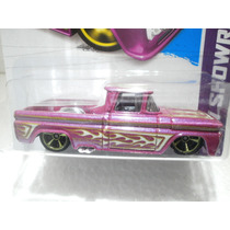Hot Wheels Camioneta 62 Chevy Rosa 162/250 2013