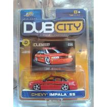 Jada - Chevy Impala Ss Bombero Dub City Del 2003 En Blister