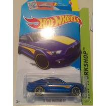 Hot Wheels De Coleccion 2015 Ford Mustang Gt 15