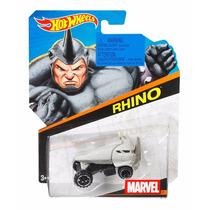 Hot Wheels Rhino Marvel Spiderman Avengers Escala 1/64