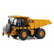 Camion Minero Caterpillar 775 Metalico A Escala 1:50 Tonkin