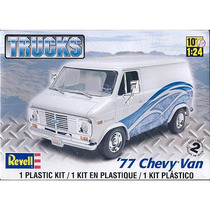 Rev7221 1977 Chevy Van 1/25 Revell