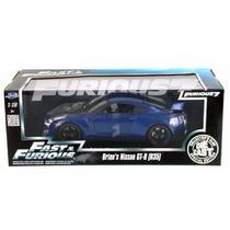 Jada Nissan Gtr R35 Blue Rapido Y Furioso Fast Furious 1/18