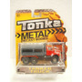 Tonka Camion Pipa Tanker Truck Gris/rojo Metal