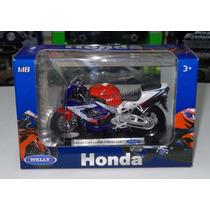 1:18 Honda Cbr 900rr Fireblade Moto Welly