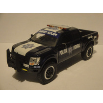 Patrulla Ford Raptor Policia Federal Mexico 1.24