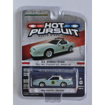 1989 Pontiac Firebird Border Patrol Patrulla Hot Pursuit