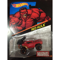 Hot Wheels Marvel 23 De 23 Red Hulk