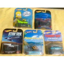 --- Super Lote Hotwheels Retro Serie 1:64 Kitt Simpsons ---