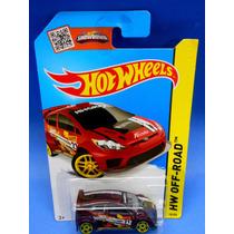 2013 Hot Wheels 12 Ford Fiesta Vino Hw Off-road