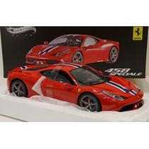 Ferrari 458 Speciale Hot Wheels Elite Escala 1:18 !!!!
