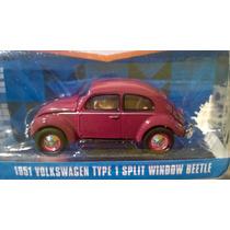 Volkswagen Type 1 Split Wondow Beetle 51 De Greenlight 1:64