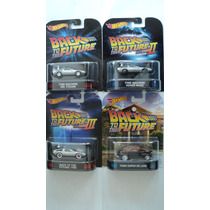 Hot Wheels Retro Set Volver Al Futuro Time Machine