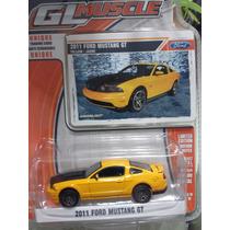 Ford Mustang 2011. Marca Greenlight. Esc. 1:64 Ed. Limitada