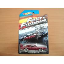 Hot Wheels Rapidos Y Furiosos Dodge Charger Daytona 2015