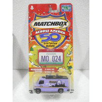 Matchbox Across America 50 Birthday Series Tv News Van