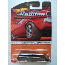 Hot Wheels Redline Heritage 2016 Chevy Nova 64 13 De 18
