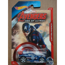 Hot Wheels 2015 Avengers Marvel Power Rage Capitan America