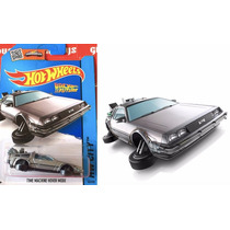 Delorean Hot Wheels Nuevo Modelo Hover Back Future Volver