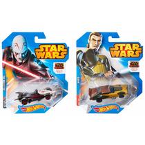 Set 2 Autos Hot Wheels Star Wars Rebels Kanan The Inquisitor