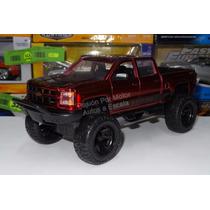 1:24 Chevrolet Silverado 2014 Off Road Rojo Jada Display