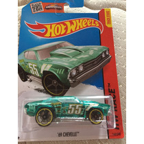 Hot Wheels 69 Chevelle Verde