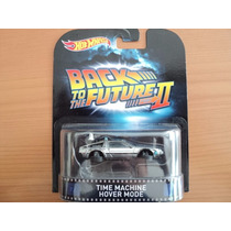 Hot Wheels Retro Volver Al Futuro Time Machine 2015