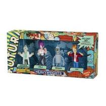 Futurama Die Cast Serie 1 En Caja Set 4pack Pesos Pesados ¿¿