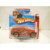 Hot Wheels Camioneta Power Panel Naranja 214/214 2010 Tc