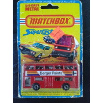 Myhc - Matchbox London Bus Superfast -lesney 1980-